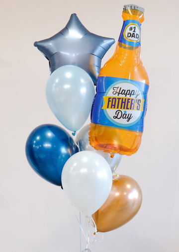 Father's Day Balloongram: Cheers to #1 Dad