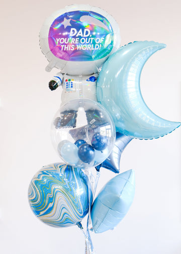 Father's Day Balloongram: Out of This World!