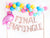 Balloon Garland Kit - Tropical Final Flamingle