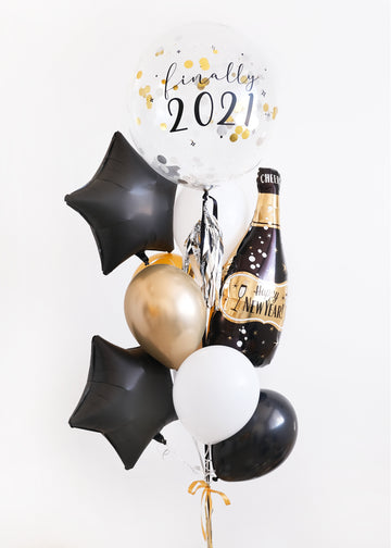 Finally 2021 | NYE Balloongram