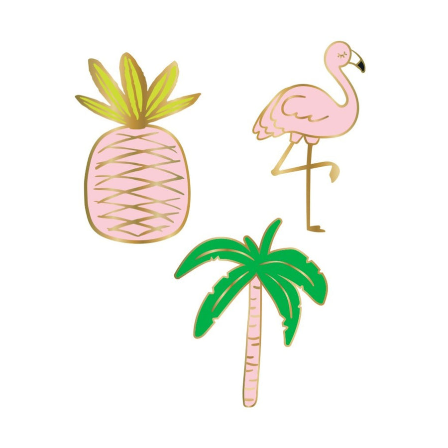 Flamingo Enamel Pins