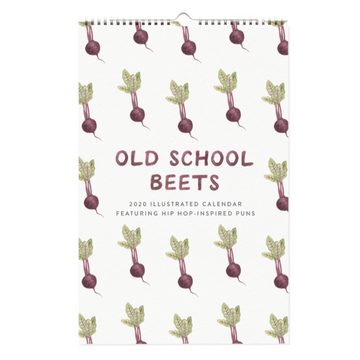 2020 Old School Beets Calendar - Food Puns