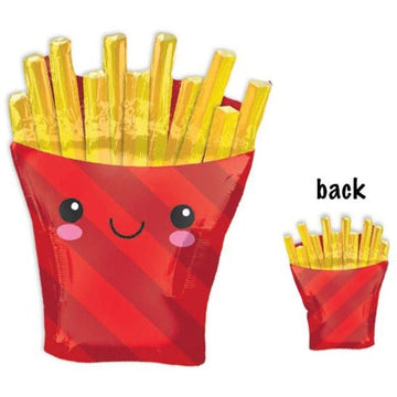 smiling french fries balloon