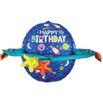Planet Birthday Balloon