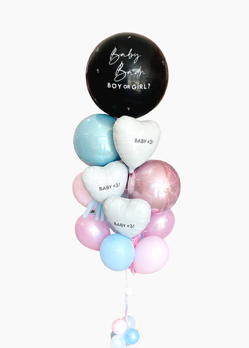 Gender Reveal Custom Balloongram