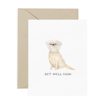 Get Well Soon Pup Card