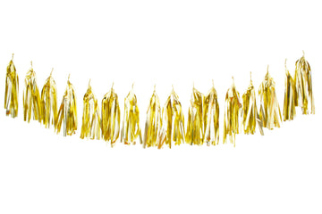 Golden Tassel Garland