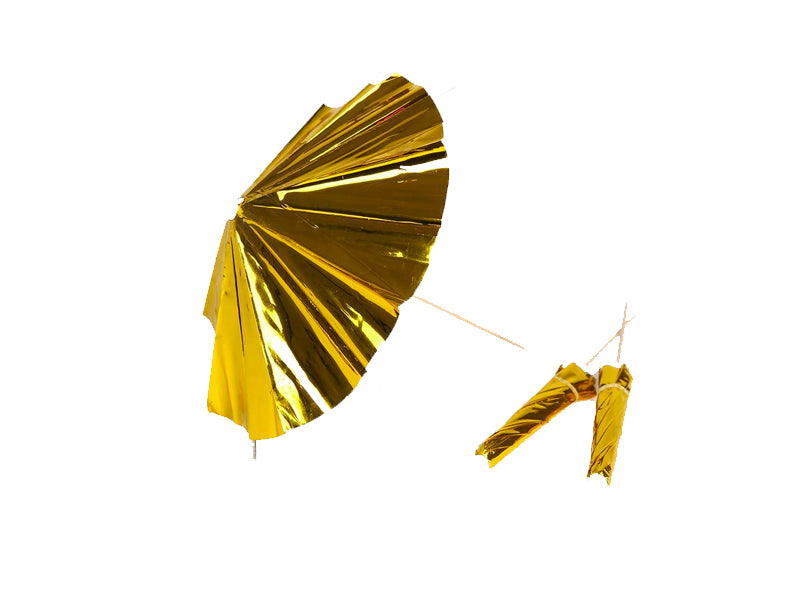 Gold Umbrellas
