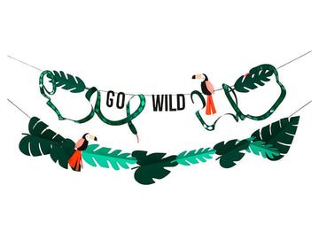 Go Wild Garland Set