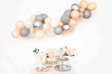 Balloon Garland Kit - Grey Blush -  DIY