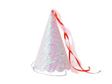 Princess Glittered Party Hats