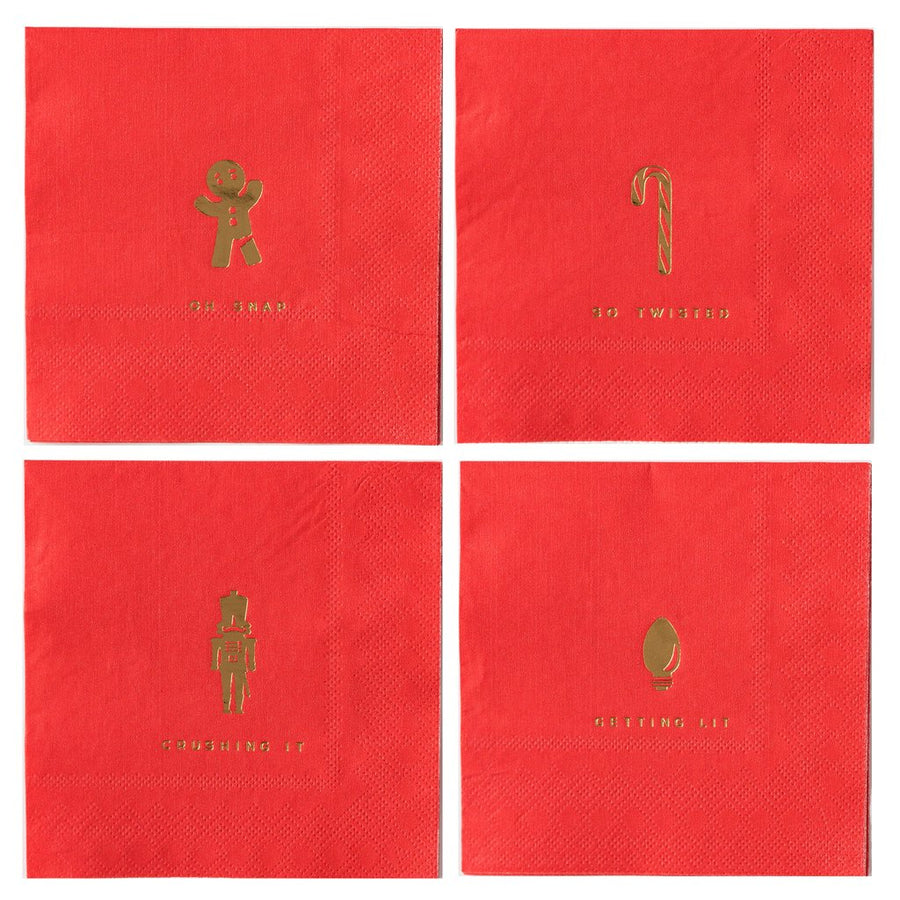 Holiday Puns Napkins