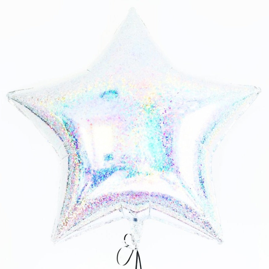 holographic star balloon