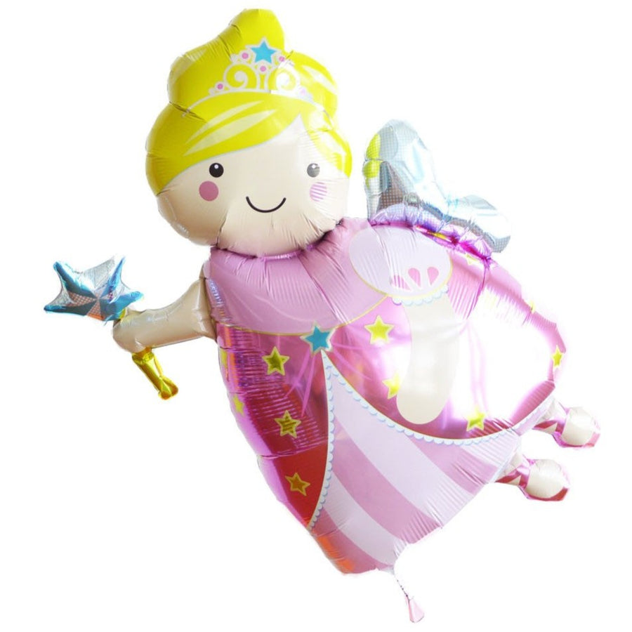pink fairy godmother balloon