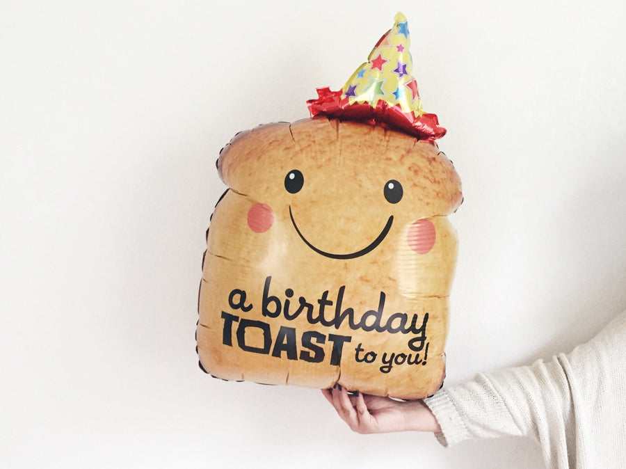 Birthday Toast Balloon