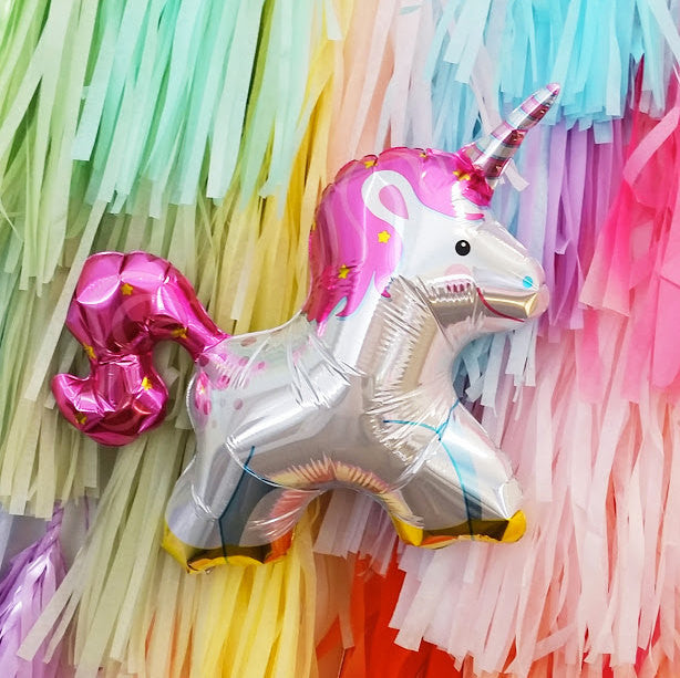 Mini Unicorn Balloon