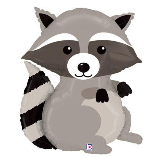 Raccoon Mylar Balloon