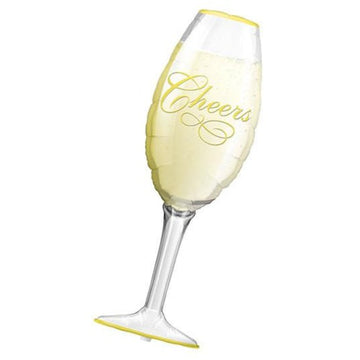 champagne glass cheers balloon