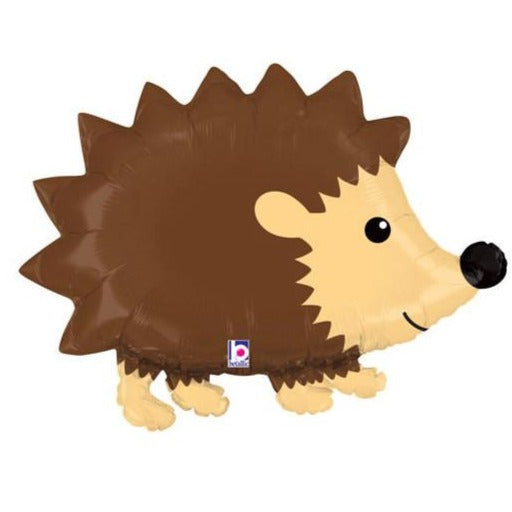 brown hedgehog balloon