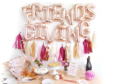 FRIENDSGIVING Letter Balloon Kit