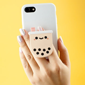 Pearl Boba Tea Phone Pop