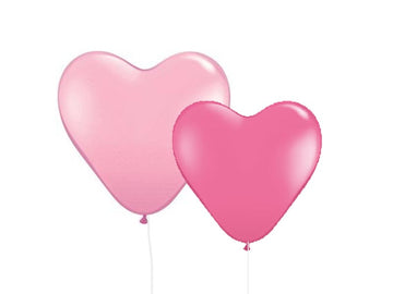 Heart Latex Balloons
