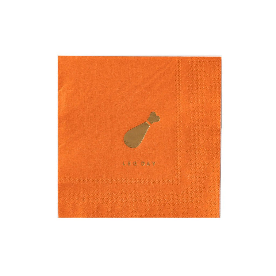 Autumn Harvest Pun Napkins