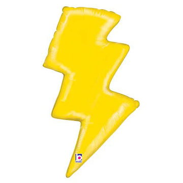 yellow lightning bolt balloon
