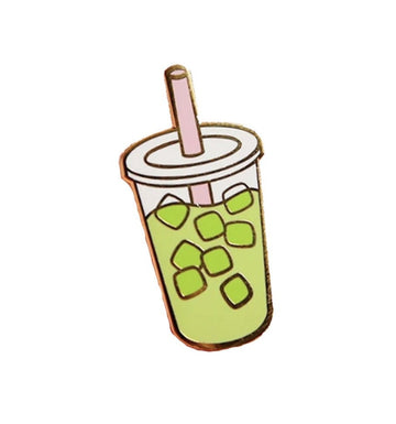 Iced Matcha Tea Pin
