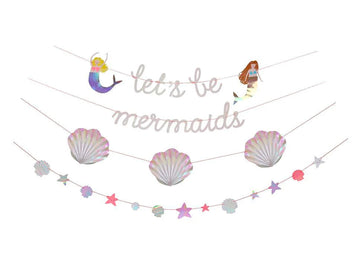 Let's Be Mermaid Garland Set