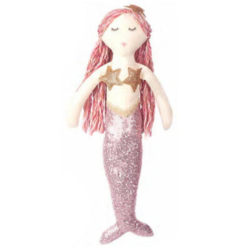 pink mermaid plush