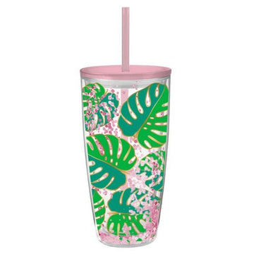 Monstera Leaf Tumbler