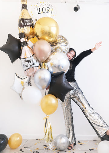Finally 2021 Deluxe | NYE Balloongram