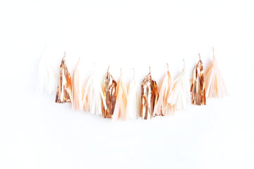 So Peachy Tassel Garland