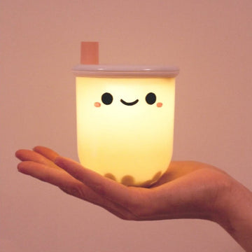 boba milk tea light