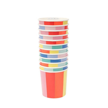 Color Wheel Rainbow Cups