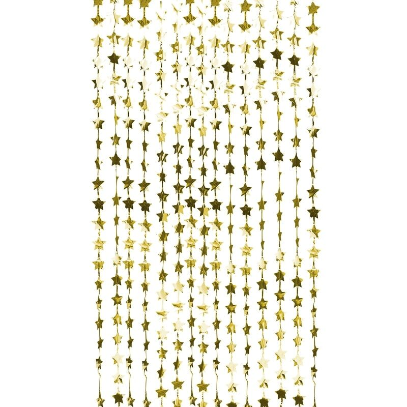 Gold Foil Star Backdrop