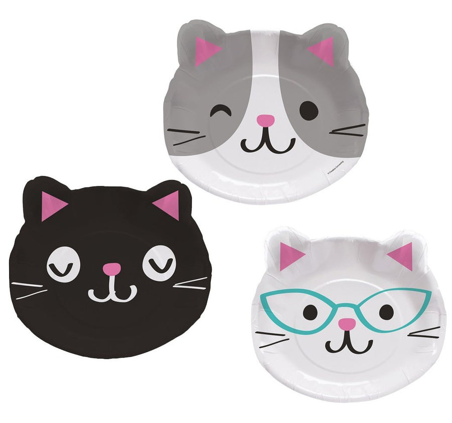 kitty cat head plates