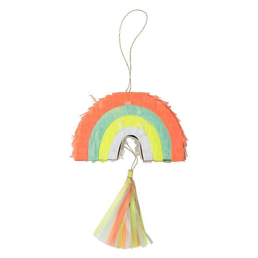 rainbow mini pinata