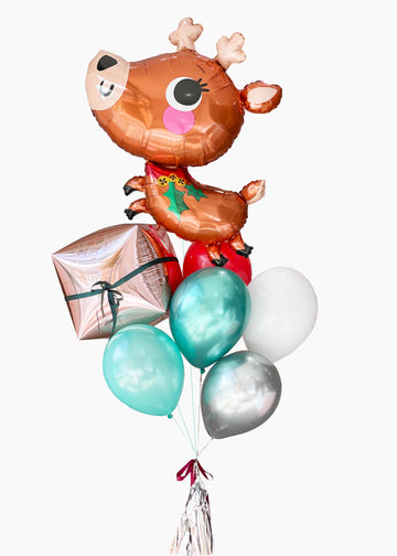 Prancer the Reindeer | Holiday Balloongram