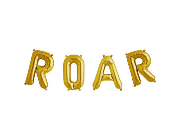 ROAR letter balloon kit