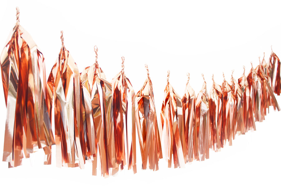 Tassel Garland - Rose Gold