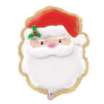 Christmas Santa Cookie Balloon