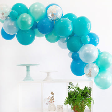 Balloon Garland DIY Kit in Sea Blues