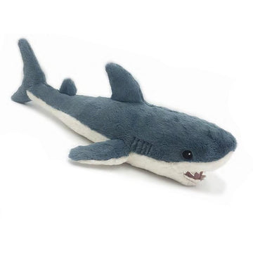 navy blue shark plush