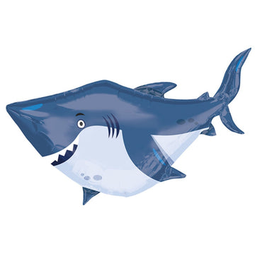 blue shark balloon