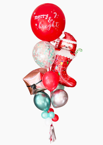 Stocking Stuffer Sloth | Holiday Balloongram