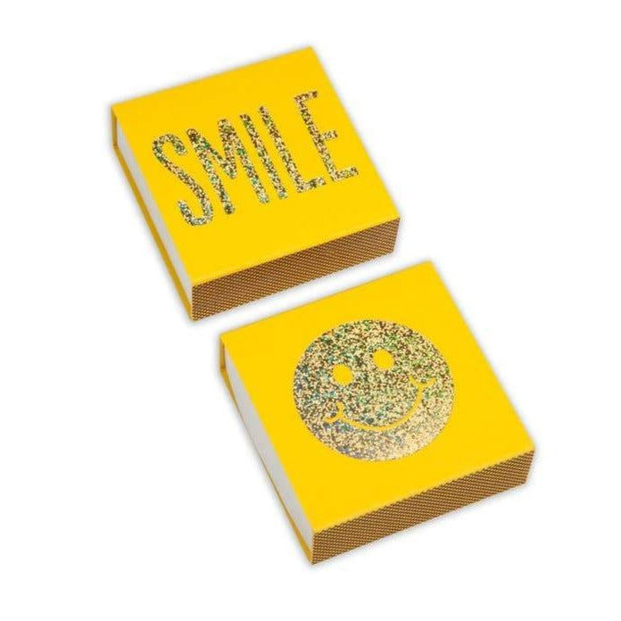 smile yellow matchbox matches