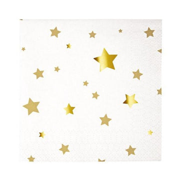 gold star napkins