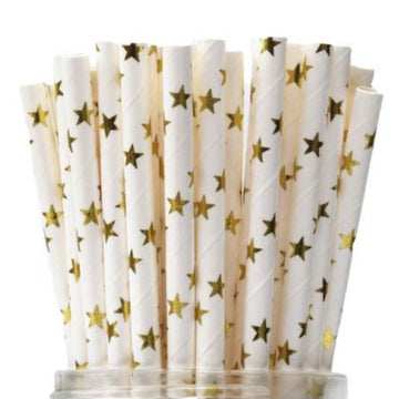 Gold Star Straws